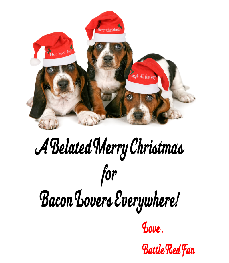 A Belated Merry Christmas to All Bacon Lovers Everywhere ...